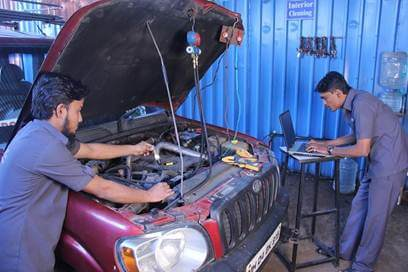 Car Air Condition Repairs Car Air Condition Gas Refiling Pune India